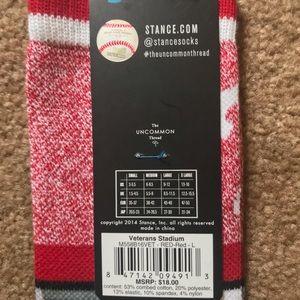 Stance Underwear & Socks - Stance Philadelphia Phillies Veterans Stadium Sock
